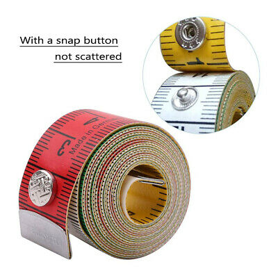 Quality Colorful Flat Tailor Tape Sewing Tools Meter Body Measuring Ruler