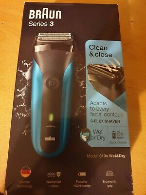 Braun Series 3 Wet And Dry Shaver New!!