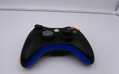 Official Wireless Microsoft Xbox 360 Controller Control Pad Black PLEASE READ!!
