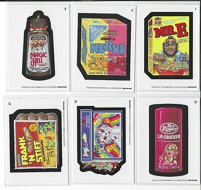 2019 Topps Wacky Packages Old School Series 8 Lot Of 12 Different Tan Backs