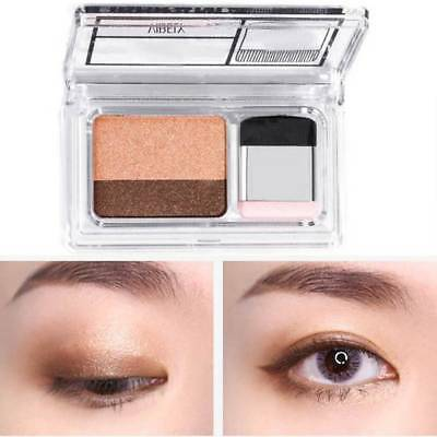 Double Color Glitter Eye Shadow Shimmer Eyeshadow Makeup Waterproof Double-l o