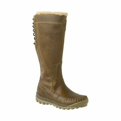 Timberland Earthkeepers Mount Holly Womens Zip Up High Leg Boots