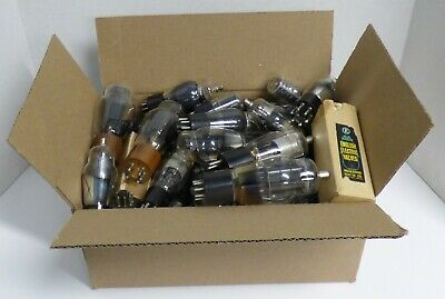 Variety Box Assorted Lot of Antique/Vintage Vacuum Tubes Untested