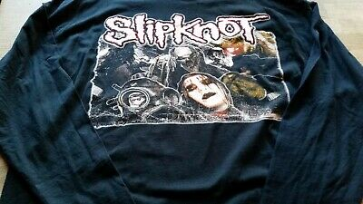 Slipknot Concert Tour Long/Sleeve T-shirt Vintage Large Unworn Condition