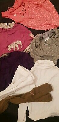 Girls Clothes Bundle Next H+m 2-3 Years Winter Outfits