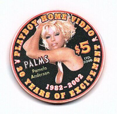 palms 20 years of excitement 5.00 chip