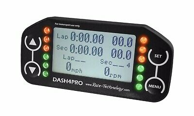 Race Technology DASH4 PRO - LIMITED STOCK AVAILABLE!! Brand New!