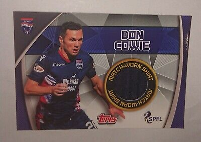 Extremely Rare Don Cowie Ross County 2019/20 Topps Spfl Official Match Attax...