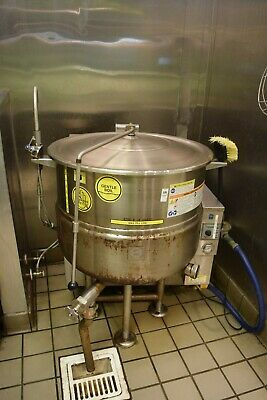 Cleveland Natural Gas 40 Gallon Steam Jacketed Kettle KGL-40