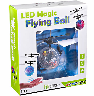 Flying Ball Infrared Induction RC Flying Toy Built-in LED Light Disco