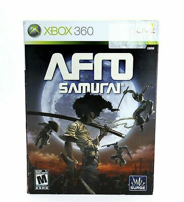 Afro Samurai (Surge) for the Microsoft XBOX System 100% Complete ~ Tested!