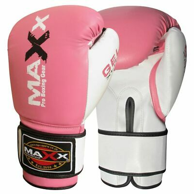 Maxx® Boxing Gloves Punch Bag Training MMA Muay Thai KickBoxing ufc gloves pad b