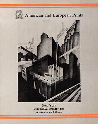 Christie's New York: American and European Prints, March 9, 1983