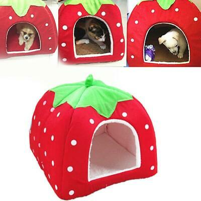 Soft Pet Dog Cat Bed House Kennel Doggy Puppy Warm Cushion Basket Pad S-L New