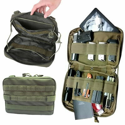 Tactical Molle Medical Kit Bag Belt Pouch Outdoor Utility EDC Tool Organizer Bag