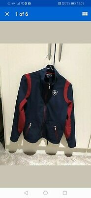 Ariat Team Softshell Jacket Navy Red childs xl or adults small