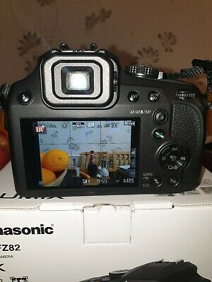 Panasonic Lumix DC-FZ82EB-K Camera 60x Optical Zoom Built in WiFi FREEPOST