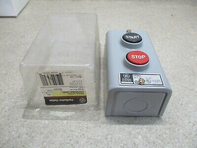 General Electric 600V Start/Stop Switch #1122938Hw Nib