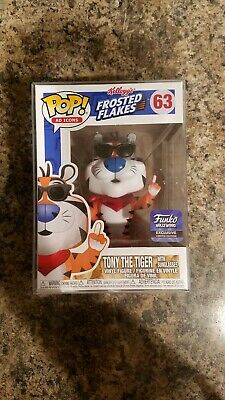 Funko Pop! Ad Icons Tony The Tiger #63 Hollywood Store Rare With Pop Protector
