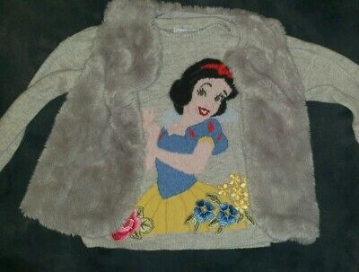 Girls Monnalisa Snowhite RRP£146 Mayoral Gilet Age 3-4-5 Years Bundle disney