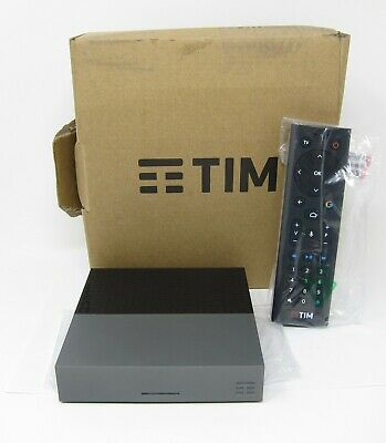 Tim vision tim box timvision android decoder 32 GB netflix dazn app game 4k