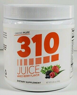 310 Nutrition Juice Mixed Berry Flavor New Sealed