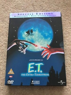 ET the extra terrestrial dvd, Special Edition