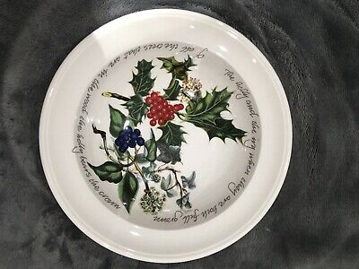 Portmeirion The Holly and The Ivy 1 x Rimmed Dessert / Cereal Bowl 17cm