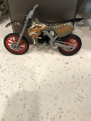 2011 Jakks Mxs Motocross Motorcycle Dirt Bike Race Track Toy