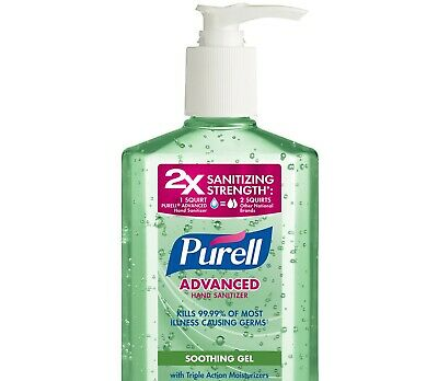 PURELL Hand Sanitizer Soothing Gel with Aloe and Vitamin E 2 OZ