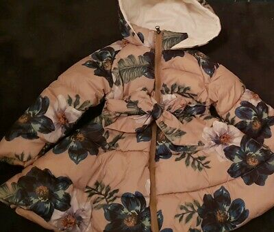 Girls Spanish Winter Coat Stunning 4-5 Years IMCCE Designer Beautiful next