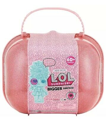 LOL Bigger Surprise Eye Spy Series 4, 60+ Surprises, Limited Edition w Case