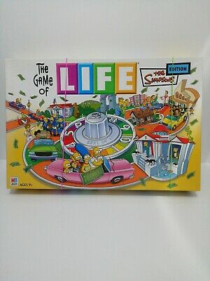 The Game Of Life The Simpsons Edition Lovely Condition Christmas Fun