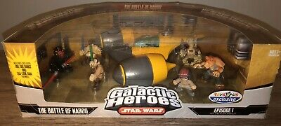 Star Wars Galactic Heroes Episode I The Battle of Naboo Toys R Us Exclusive! HTF