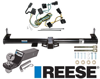 "Reese Trailer Tow Hitch For 98-06 Jeep Wrangler TJ Complete w/ Wiring & 2"" Ball"