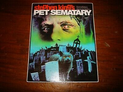 Stephen King Pet Sematary Sticker Decal Brand New