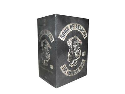 Sons of Anarchy: The Complete Series Seasons 1-7 (DVD, 2015, 30-Disc Set)
