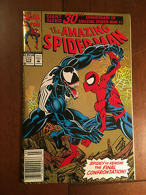 Amazing Spider-Man # 375 Fine Newsstand Edition Marvel Venom 3Oth Anniversary