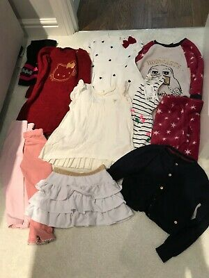 Bundle clothes girls  3 - 4 years Nula bug hello kitty h & m Harry Potter pjs