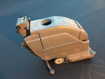 """👀 Used SES 2001 Disk 20"""" Floor Scrubber with Xtreme Recovery Squeegee System"""