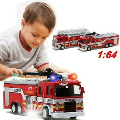 Toys For Boys Kids Children Fire Truck For 3-10 Years Olds Age Xmas F7I8