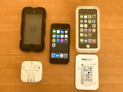 Apple iPod Touch 5th Generation Space Gray (16 GB) with New EarPods
