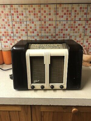Vintage TASMA TONEMASTER RADIO Good Working Order 1950s