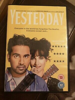Yesterday dvd 2019 brand new never watched