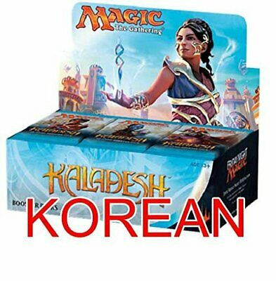 MTG Magic the Gathering KLD Kaladesh Factory Sealed Booster Box KOREAN Language
