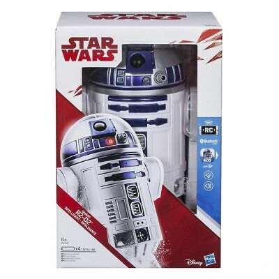 Star Wars R2-D2 Smart App Enabled Bluetooth iPhone Android RC Robot R2D2 Hasbro
