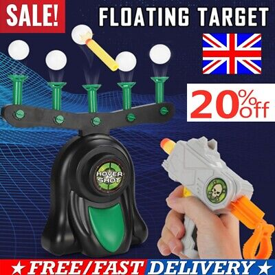 Electric Air Shot Hovering Ball Target Shooting Game Xmas Party Foam Darts Games