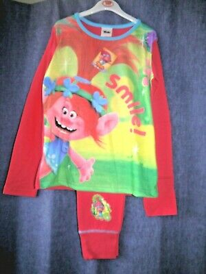 Gorgeous Dreamworks TROLLS, pyjamas, age 9 - 10 years,  BNWT