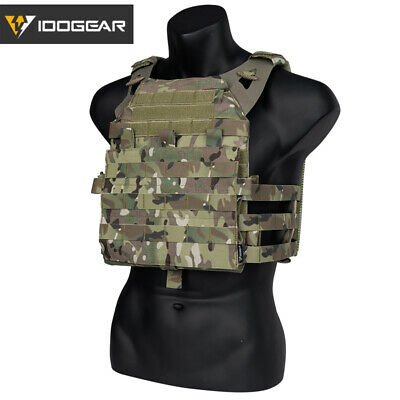IDOGEAR JPC 2.0 Tactical Vest Plate Carrier MOLLE Body Armor Paintball Hunting