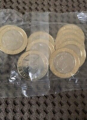 New 2019 Isle of Man £2 Two Pound Coin Father Christmas Santa Sealed Bag Unc